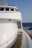 яхта палубы Стоковые Фотографии RF