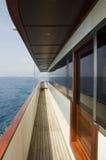 яхта палубы Стоковые Изображения RF