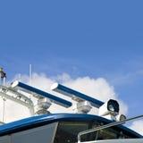 яхта радиолокаторов Стоковая Фотография