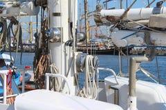 яхта рангоута Стоковое Изображение