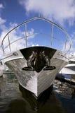 яхта смычка Стоковая Фотография RF