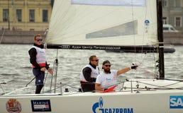 Яхта спорт гонки Стоковые Изображения