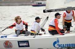 Яхта спорт гонки Стоковая Фотография RF