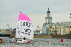 Яхта спорт гонки Стоковые Изображения RF