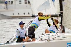 Яхта спорт гонки Стоковые Фотографии RF