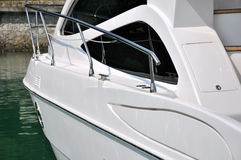 яхта стопа стыковки Стоковое Фото