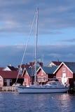 яхта стоянкы автомобилей Стоковое Изображение RF