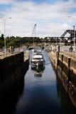 яхта стыковки Стоковое Изображение RF