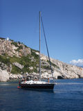 яхта туристов доски Стоковое Фото
