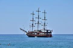 Яхта удовольствия Стоковая Фотография