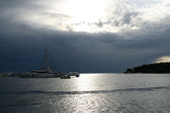 яхта Стоковое Изображение