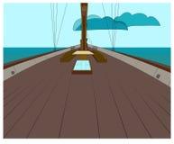 Яхта Иллюстрация штока