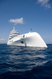 яхта melnichenko andrei супер стоковое изображение