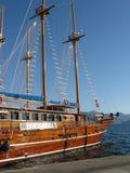 яхта promontory Стоковые Изображения