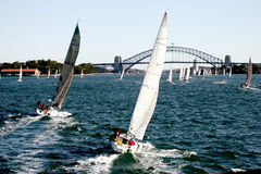 яхта regatta стоковая фотография rf
