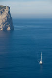 яхта sailing стоковое изображение