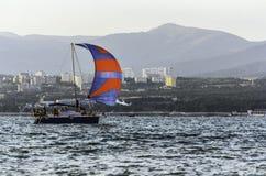 Яхта Sailing Стоковое Фото