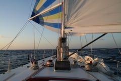 яхта spinnaker гонки Стоковая Фотография