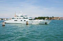 яхта venice загадки супер Стоковые Фото