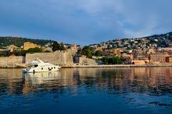 Яхта Villefrace стоковые изображения rf