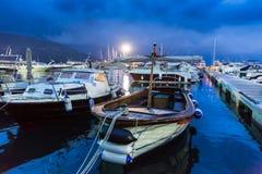 Яхты в гавани Стоковое Изображение RF