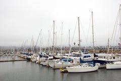 Яхты в Марине Вентуры Стоковая Фотография RF