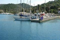 Яхты в Марине Odiseos Стоковые Изображения
