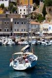 Яхты грека стоковое фото rf