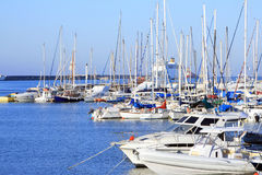 яхты Греции шлюпок Стоковые Фото