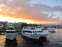 яхты Египета залива Стоковое фото RF