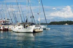 Яхты и шлюпка Стоковые Фотографии RF