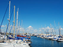яхты Кипра Стоковое Изображение RF