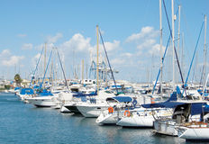 яхты Кипра Стоковые Фото