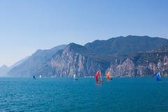 Яхты на воде Стоковое фото RF