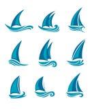яхты парусников Стоковое Изображение RF