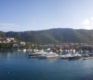 яхты сини 4 залива Стоковое фото RF