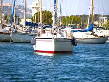 яхты Стоковая Фотография RF