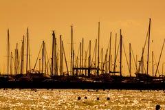 Яхты стоковое изображение rf