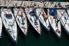 яхты Стоковое Изображение