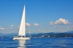 яхты sailing Стоковая Фотография RF