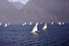 Яхты Sailing Стоковое фото RF