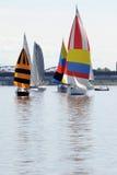 яхты sailing Стоковые Фотографии RF