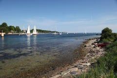 яхты sailing Стоковые Фото