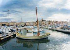 Яхт-клуб марселя, Франции стоковые фото