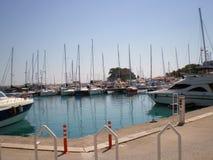 Яхт-клуб Kemer стоковые изображения rf