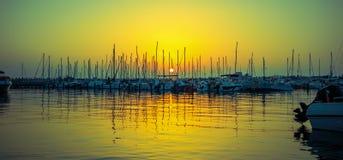 Яхт-клуб вечера Стоковое фото RF