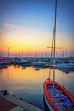 Яхт-клуб вечера Стоковое Изображение