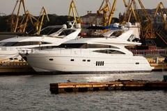 Яхт-клуб Стоковое Изображение