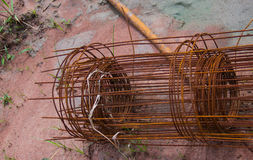 Ячеистая сеть ржавая Стоковая Фотография