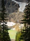 Яшма Канада ландшафта гор Стоковое Изображение